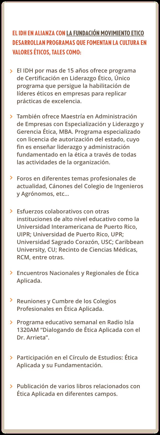 El IDH EN Alianza con FME - Seminarios@2x