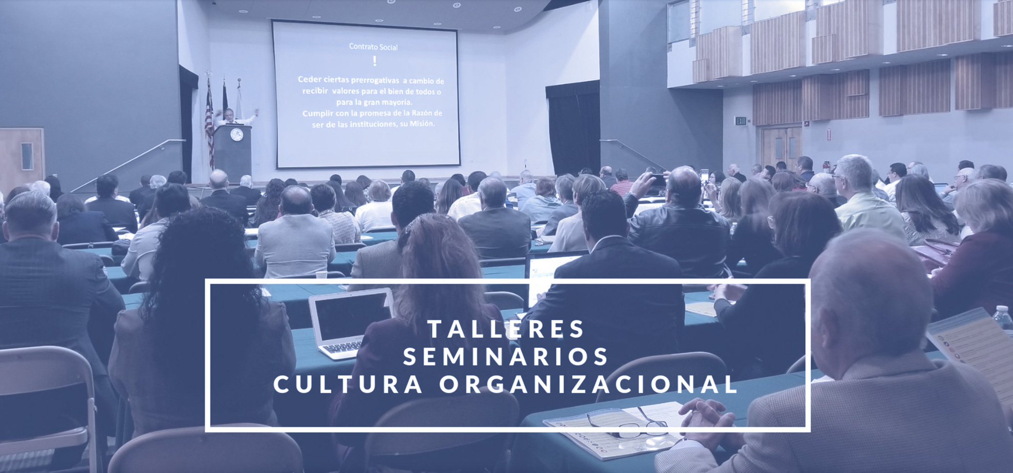 Imagen talleres, seminarios, cultura organizacional
